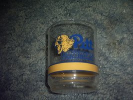University of Pittsburgh 4 Inch Basketball Glass Tumbler - $11.75