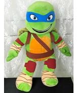 """Build-A-Bear Workshops Plush Teenage Mutant Ninja Turtle Leonardo 20"""" Tall - $17.65"""