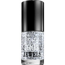 Maybelline New York Color Show Jewels Nail Lacquer Top Coat, Platinum Adorn, 0.2 - $6.99