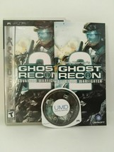 Tom Glancy's Ghost Recon Advanced Warfighter 2 (Sony PSP, 2007) CIB USA Seller - $3.38