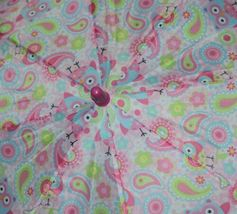 RainStoppers W104CHOWLS Multicolored Manual Open Umbrella Owls image 3