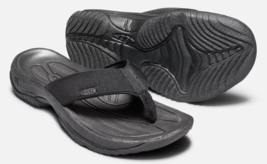 Keen Kona Flip Size US 10.5 M (D) EU 44 Men's Sport Sandals Black / Stee... - $48.50