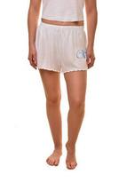 Wildfox Aux Femmes Wifey Doutzen Mini Shorts Clean White Bianca Taille M - $47.73