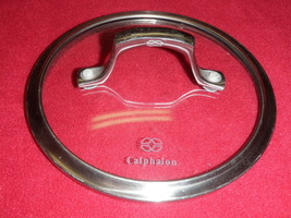 "Calphalon Glass Stainless Steel 7"" Dia Replacement LID Pot Pan Kettle Cover - $37.39"