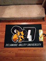 """Fanmats NCAA Delaware Valley Goats Starter Area Rug Door Mat NEW 19"""" x 30"""" - $24.74"""