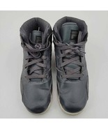 FILA Boys Athletic Sneakers Shoes Black Mid Top Lace Up 3SC60228-052 6.5 M - $23.02
