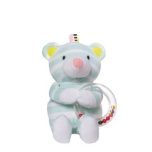 Manhattan Toy Playtime Plush Toy, Bear with Ring Rattle - $11.98