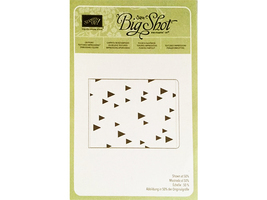 Stampin' Up! Textured Impressions Embossing Folder On Point #135876 - $4.99