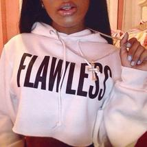 Womens Crop Hoodie Long Sleeve Jumper Hooded Pullover Coat Casual Sweatshirt Top