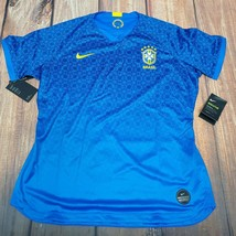 Nike Brasil 2019 Stadium Jersey Away Soccer Football Womens S $90 AJ4389... - $39.55