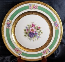 "ROSENTHAL 5841 11"" Service PLATE GOLD ENCRUSTED  FLORAL (multiple availa... - $102.85"