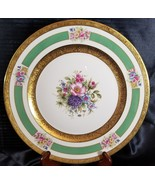 """ROSENTHAL 5841 11"""" Service PLATE GOLD ENCRUSTED  FLORAL (multiple availa... - $102.85"""