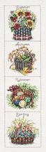 Janlynn Seasonal Baskets Counted Cross Stitch Kit 6-Inch x 24-Inch - $26.72
