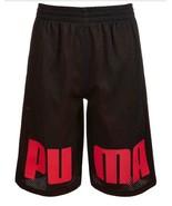 Puma Big Boys Mesh Basketball Shorts, Size XL - $17.82