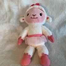 "Disney Doc McStuffins 15"" Lambie the Lamb Talking Plush Stuffed Animal T... - $12.19"