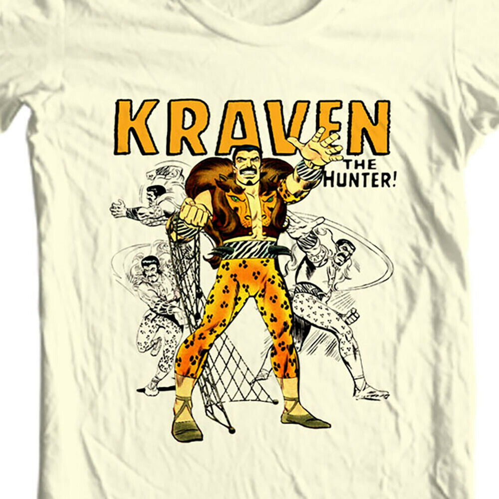 Kraven Hunter T-shirt retro comic villain marvel comics sinister six graphic tee