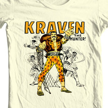 Kraven Hunter T-shirt retro comic villain marvel comics sinister six graphic tee image 1