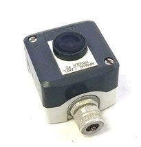Telemecanique XAL-D/K...H7 Push Button Enclosure W/ Black Push Button - $29.99