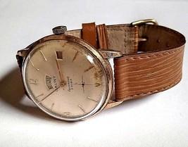 Cauny Prima Triomphe Vintage Men's Watch Mechanic Swiss Made 35,5mm Parts Repair - $83.79