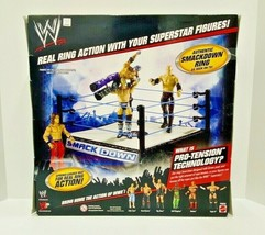 Mattel Smackdown Superstar Ring With Spring Loaded Mat - $46.75