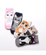 Harajuku Cute Cotton Cat Kitten Animal Socks Japanese Novelty Kawaii Korean - $2.99