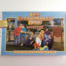 Babysitters Club Mystery Board Game Milton Bradley 1992 Vintage 95% Comp... - $49.45
