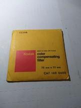 Kodak Wratten Gelatin Filter CC20B  75x75mm 1496488 - $19.17