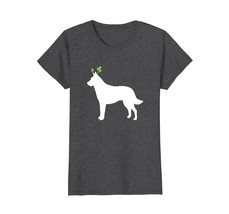 Belgian Malinois St Patricks Day Dog Silhouette T-Shirt - $19.99+