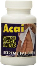 Eden Pond Supplements Acai Extreme Brazil Blend 60 Capsules NEW - $8.00