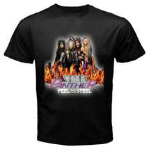 Feel The Steel Panther T-shirt Mens Black - $16.99+