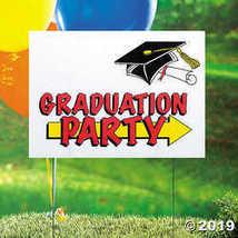 Graduation Party Yard Sign - $3.86