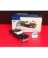 "Department 56 snow village ""1955 Ford Thunderbird""-BLACK - MINT IN BOX - $19.31"