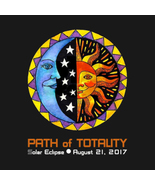 Tee Shirt Path of Totality Commemorative Solar Eclipse Womens  Medium - $23.99