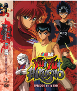 DVD Yu Yu Hakusho Complete Series  (Episodes 1-112 End) ~ English Dubbed - $59.99