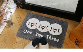 Romane Bathroom Floor Foot Rug Mat Non Slip Indoor Door Bath Matt (1,2,3 Print) image 3