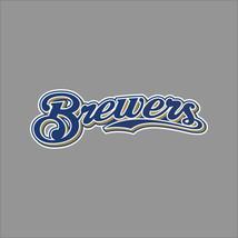 Milwaukee Brewers #3 MLB Team Logo Vinyl Decal Sticker Car Window Wall Cornhole - $4.40+