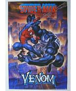 1993 Amazing Spider-man v Venom 34x22 rare vintage original Marvel Comic... - $59.39