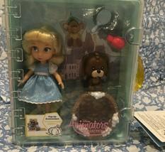 Cinderella Disney Store Animators Collection Mini Doll Playset - $27.16