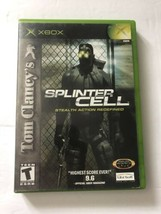 Tom Clancy's Splinter Cell Original Xbox COMPLETE (Ubisoft, 2002) - $6.42