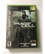 Tom Clancy's Splinter Cell Original Xbox COMPLETE (Ubisoft, 2002) - $6.42