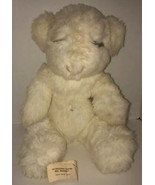 "Vintage 80s HAPPY ""BEAR""THDAY MS. NOAH Original Stuffed Plush 1983 Bear ... - $70.45"