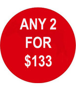 WED-THURS PICK ANY 2 FOR $133 BEST OFFERS DEAL ... - $0.00