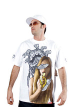 Dissizit! Diss X Dez Einswell Bianco Arte Graffiti Maglietta + Phoreyz M... - $21.75