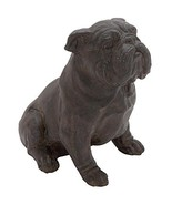 Deco 79 Poly-Stone Bull Dog, 10 by 11-Inch - $34.21
