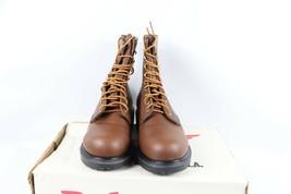 Vintage Nuevo Red Wing Shoes Hombre 8D 2233 Supersole 20.3cm Cuero Acero... - $385.38