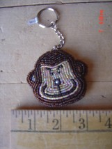 Beaded Key Chain - MONKEY - CHIMPANZEE - Lot of TWO (2) - $9.89