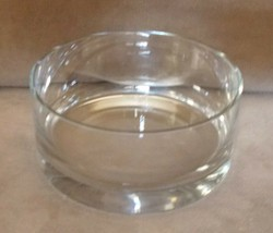 """DANSK BOWL Dish Round Heavy Clear Glass Candy Compote Decor 5.5"""" Vintage - $69.77"""
