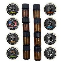 Badass Beard Care Trial Kit For Men - 8 Packs, Trial Sizes of Beard Balm & Beard image 9