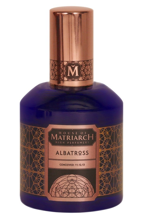 ALBATROSS by HOUSE OF MATRIARCH 5ml Travel Spray Perfume Sea Notes Wood
