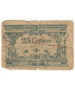 Vintage Francia 25 Céntimos Billetes Circulación - $26.41